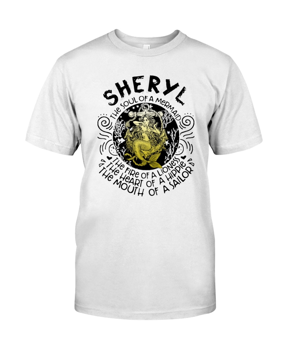 Sheryl The Soul Of A Mermaid The Fire Shirt Classic T-Shirt