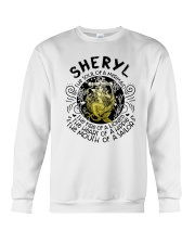 Sheryl The Soul Of A Mermaid The Fire Shirt Crewneck Sweatshirt thumbnail