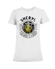 Sheryl The Soul Of A Mermaid The Fire Shirt Premium Fit Ladies Tee thumbnail
