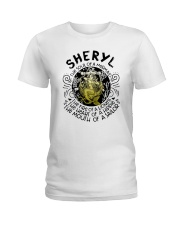 Sheryl The Soul Of A Mermaid The Fire Shirt Ladies T-Shirt thumbnail
