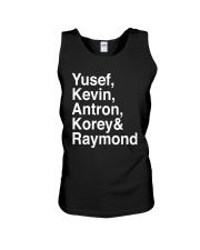 Exonerated 5 T Shirt Unisex Tank thumbnail
