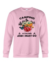 Camping Is Calling And I Must Go Shirt Crewneck Sweatshirt thumbnail