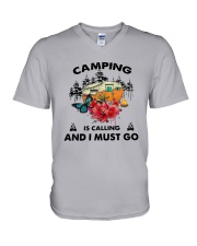 Camping Is Calling And I Must Go Shirt V-Neck T-Shirt thumbnail