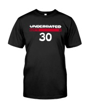 Underrated North 30 Stephen Curry Shirt Classic T-Shirt front