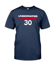 Underrated North 30 Stephen Curry Shirt Classic T-Shirt tile