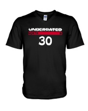 Underrated North 30 Stephen Curry Shirt V-Neck T-Shirt thumbnail