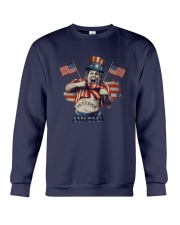 America Independence Day Fat Boy Freedom Shirt Crewneck Sweatshirt thumbnail
