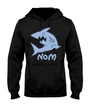 0 Light Shark Nom Shirt Hooded Sweatshirt thumbnail