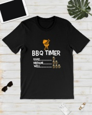 BBQ Timer Rare Medium Well Shirt Classic T-Shirt lifestyle-mens-crewneck-front-17