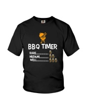 BBQ Timer Rare Medium Well Shirt Youth T-Shirt thumbnail
