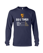 BBQ Timer Rare Medium Well Shirt Long Sleeve Tee thumbnail