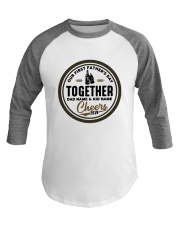 First Father's Day Daddy Hudson Cheers 2019 Shirt Baseball Tee thumbnail