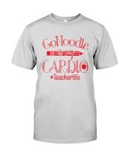 Go Noodle Is My Cardio Teacherlife Shirt Premium Fit Mens Tee thumbnail