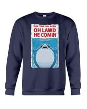 Dun Dunn Dun Dunn Oh Lawd He Comin Shirt Crewneck Sweatshirt thumbnail