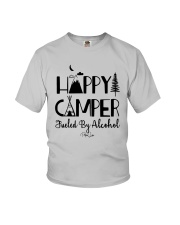 Happy Camper Fueled By Alcohol Shirt Youth T-Shirt thumbnail