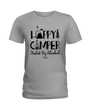 Happy Camper Fueled By Alcohol Shirt Ladies T-Shirt thumbnail