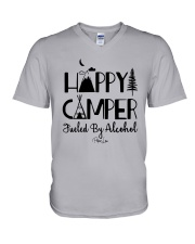 Happy Camper Fueled By Alcohol Shirt V-Neck T-Shirt thumbnail