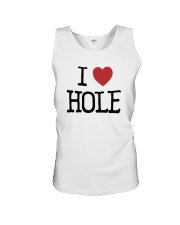 Meaning Machine I Love Hole Shirt Unisex Tank thumbnail