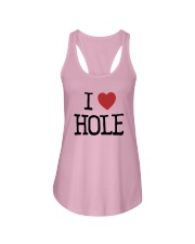 Meaning Machine I Love Hole Shirt Ladies Flowy Tank thumbnail