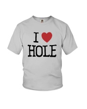 Meaning Machine I Love Hole Shirt Youth T-Shirt thumbnail