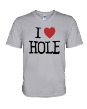 Meaning Machine I Love Hole Shirt V-Neck T-Shirt thumbnail