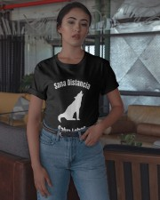 Sana Distancia Salva Lobos Shirt Classic T-Shirt apparel-classic-tshirt-lifestyle-05
