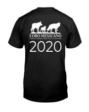 Sana Distancia Salva Lobos Shirt Classic T-Shirt back