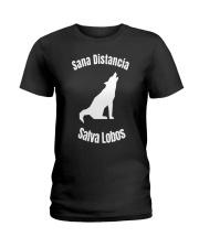 Sana Distancia Salva Lobos Shirt Ladies T-Shirt thumbnail