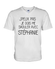 Jpeux Pas Je Dois Me Saouler Avec Stéphanie Shirt V-Neck T-Shirt thumbnail