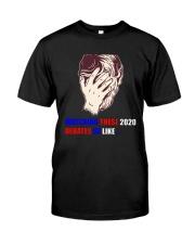 Watching These 2020 Debates Be Like Shirt Classic T-Shirt front