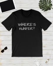 Where's Hunter Shirt Classic T-Shirt lifestyle-mens-crewneck-front-17