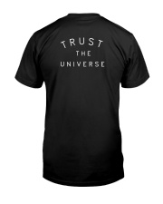 Victoria Justice Trust The Universe Shirt Classic T-Shirt back