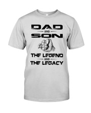 Dad And Son The Legend And The Legacy Shirt Premium Fit Mens Tee thumbnail
