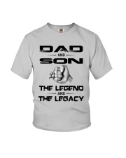 Dad And Son The Legend And The Legacy Shirt Youth T-Shirt thumbnail