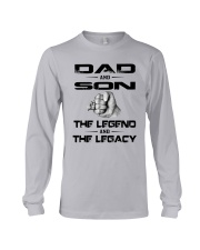 Dad And Son The Legend And The Legacy Shirt Long Sleeve Tee thumbnail