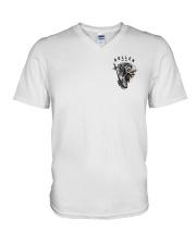 Sullen Art Co Protect The Trade Shirt V-Neck T-Shirt thumbnail