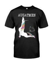 Unicorn Ausatmen Shirt Premium Fit Mens Tee thumbnail