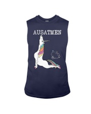 Unicorn Ausatmen Shirt Sleeveless Tee thumbnail