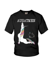 Unicorn Ausatmen Shirt Youth T-Shirt thumbnail