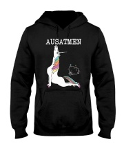 Unicorn Ausatmen Shirt Hooded Sweatshirt thumbnail