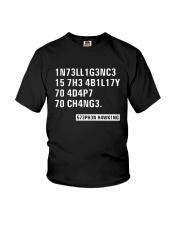Black Intelligence T Shirt Youth T-Shirt thumbnail