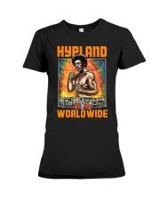 Hypland Worldwide End Racism Shirt Premium Fit Ladies Tee thumbnail