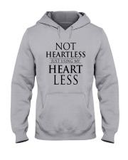 Not Heartless Just Using My Heart Less Shirt Hooded Sweatshirt thumbnail