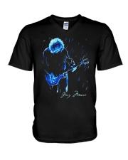 In Memoriam Gary Moore Shirt V-Neck T-Shirt thumbnail