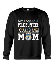 Floral Favorite Police Officer Calls Me Mom Shirt Crewneck Sweatshirt thumbnail