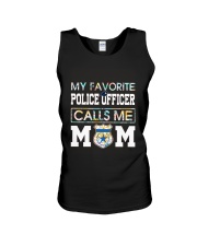 Floral Favorite Police Officer Calls Me Mom Shirt Unisex Tank thumbnail