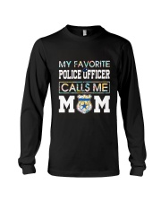 Floral Favorite Police Officer Calls Me Mom Shirt Long Sleeve Tee thumbnail