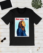 Aoc See Through Black Shirt Classic T-Shirt lifestyle-mens-crewneck-front-17