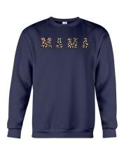 Leopard Print Mama Shirt Crewneck Sweatshirt thumbnail