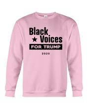 Black Voices For Trump Shirt Crewneck Sweatshirt thumbnail